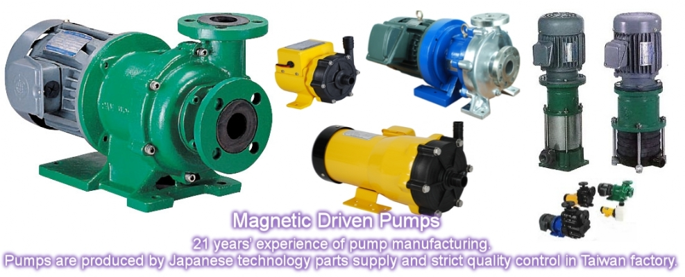 Magnetic Driven Pump Supplier Pakistan, Pan World Pumps Distributor